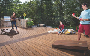 Trex Transcend Decking in Southern New Hampshire